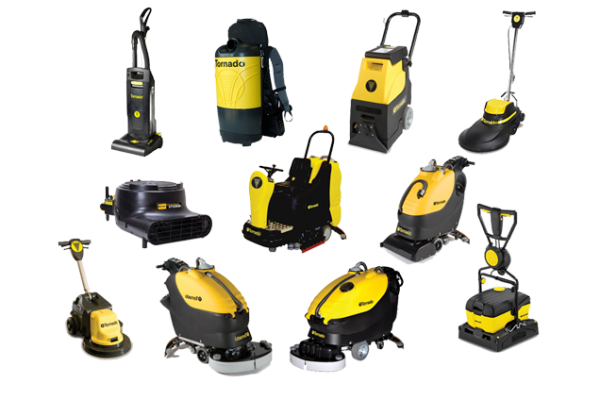 Powered Janitorial Equipment